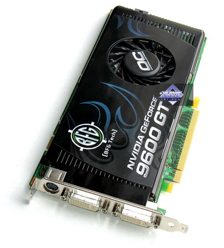 BFG geForce 9600 GT OC 512MB PCI- E