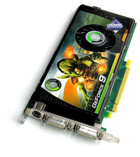 Point Of view geForce 9600 GT 512MB PCI- E