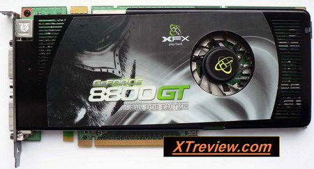 XFX GeForce 8800 GT 512 Mb DDR3 XXX card