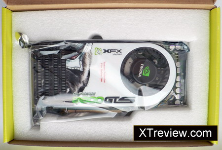 XFX GeForce 8800 GTS 640 Mb DDR3 the card