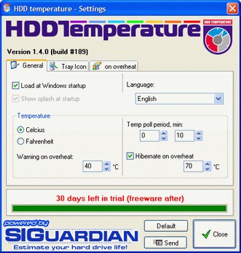 HDD Temperature v.4.0.10 RC0