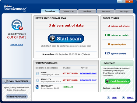 Driver scanner review , search and update your drivers